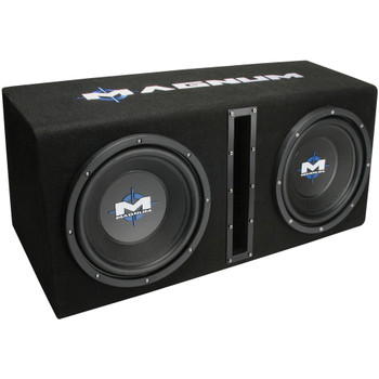 """MTX Audio MB210SP Magnum Series Dual 10"""" 400W RMS Vented Enclosure with Amplifier"""