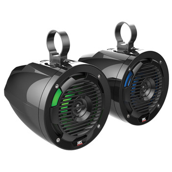 """MTX Audio RANGERSYSTEM3 - Includes An All Weather Radio, Front Speaker 6.5"""" Pods, Rear 6.5""""Cage-Mount Pods, A 400-Watt Amplifier & Loaded 10"""" Subwoofer Enclosure For Select Polaris Ranger"""