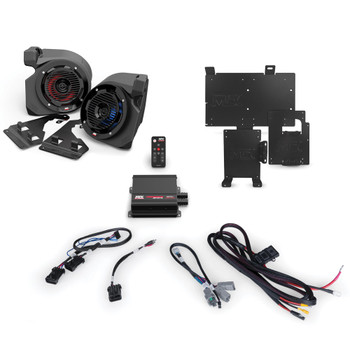 MTX Audio RZR-14RC-THUNDER2 2-speaker amplified audio system Compatible With 2014+ Polaris RZR Vehicles With RideCommand