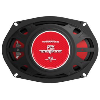 "MTX Audio TERMINATOR69 Terminator Series 6x9"", 2-Way, 60W RMS 4-Ohm Coaxial Speaker Pair"