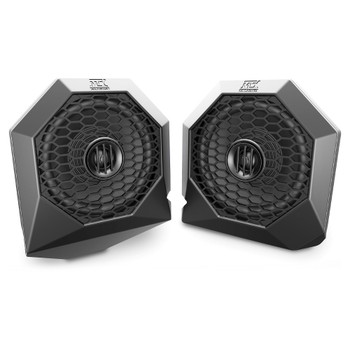 """MTX Audio RZRPOD65 6.5"""" Dash Mount All-Weather Speaker Pods, 75-Watts RMS, 4Ω - Pair, Compatible With Select 2014+ Polaris RZR XP1000 & 900"""