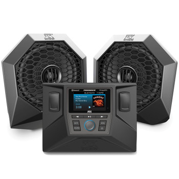 """MTX Audio RZRSYSTEM1 - Includes A Pair Of Speaker 6.5"""" Pods, A AWMC3 All Weather Radio, Dash Kit and Speaker Wire For Select 2014-2018 Polaris RZR"""