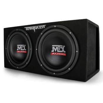 """MTX Audio TNE212DV Terminator Series Dual 12"""" 1000W RMS Vented Subwoofer Enclosure"""