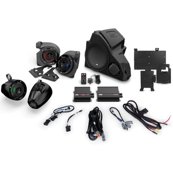 MTX Audio RZR-14RC-THUNDER5 5-speaker amplified audio system Compatible With 2014+ Polaris RZR Vehicles With RideCommand