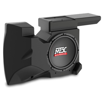 "MTX Audio RZRXP-10 Amplified 10"" Subwoofer Enclosure - Compatible With Select 2014+ Polaris RZR XP900 and XP1000 Vehicles"