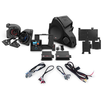 MTX Audio RZR-14-THUNDER3 3-speaker amplified audio system for 2014+ Polaris RZR vehicles Without RideCommand