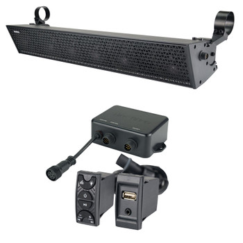 "NavAtlas NS27A - 27"" 10 Speaker Powersports Soundbar With NavAtlas NA2BT Bluetooth Controller"