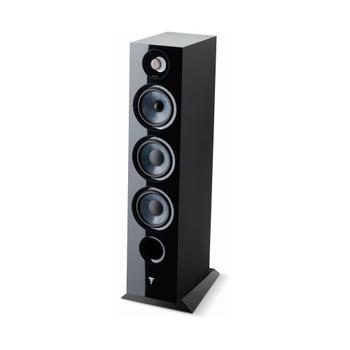 Focal Chora 826 3-way bass reflex floorstanding loudspeaker, Black, Sold Individually