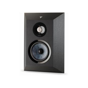 Focal Chora Wall Mount Surround Loudspeaker, Black, Sold Individually