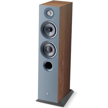 Focal Chora 816 2.5-way bass reflex floorstanding loudspeaker, Dark Wood, Sold Individually