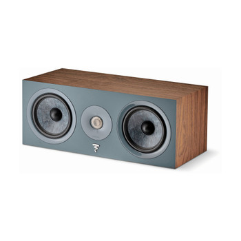 Focal Chora Center 2-Way Sealed Center Loudspeaker, Dark Wood, Sold Individually