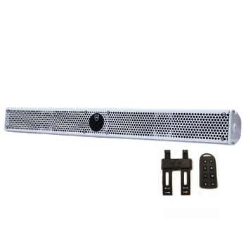 Wet Sounds Stealth 10 Ultra HD White All-in-one Amplified Soundbar with Remote - Open Box