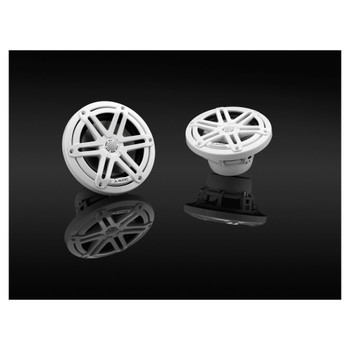"""JL Audio M3-650X-S-Gw - M3 6.5"""" Marine Coaxial Speakers (pair) - Gloss White Sport Grilles - Used Acceptable"""