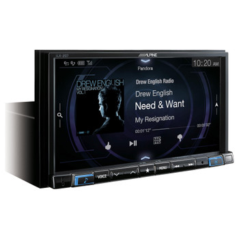 Alpine iLX-207 Mech-less compatible with Apple Car Play Android Auto Audio/Video system - Used Acceptable