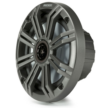 """Kicker 6.5"""" Charcoal Marine Speakers (QTY 4) 2 pairs of OEM replacement speakers"""