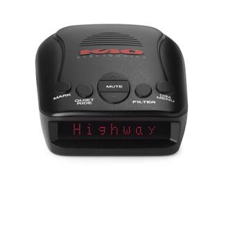 K40 RLS2 Portable Radar/Laser Detector with GPS with Alpine DVR-C310R Premium 1080P Dash Camera Bundle (Front & Rear) with Impact Recording