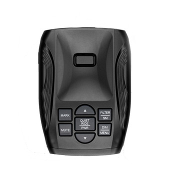 K40-100 Portable Dash Mount Radar Detector with DUAL LDO Dual Laser Defuser Optix Transponders