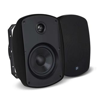 "Russound 5B45B 4"" 2-Way OutBack Indoor/Outdoor Speakers in Black - Open Box"