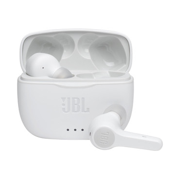 JBL JBLT225TWSWHTAM TUNE 225TWS White True Wireless In-Ear Headphones WHITE