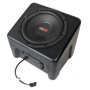 "SSV Works WP-RG4SB10 Polaris Ranger 2018- up XP 1000 Weather Proof 10"" Amplified Subwoofer"