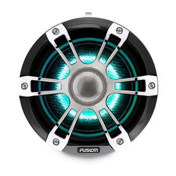 Fusion SG-FLT652SPC 6.5'' Sports Grille Grey Chrome Tower Speakers with LED - Pair