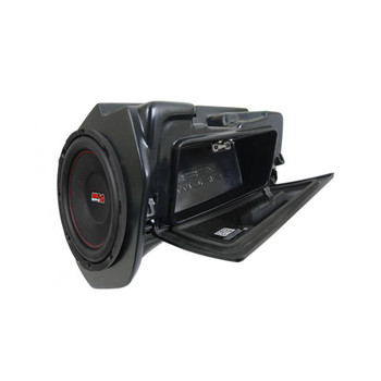 """SSV Works WP-RZ4GBS10 14+ Polaris RZR Glove Box Weather Proof 10"""" Amplified Subwoofer *Does Not Work w/Ride Command"""