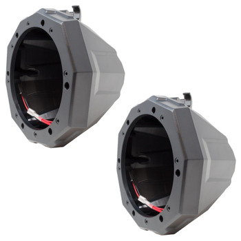 SSV Works GN-C65U Polaris General Unloaded Cage Mount Pods Including Clamps