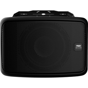 """Wet Sounds Venue Series 8"""" Horn Loaded Compression Driver Outdoor Speaker, Black, Sold Individually"""