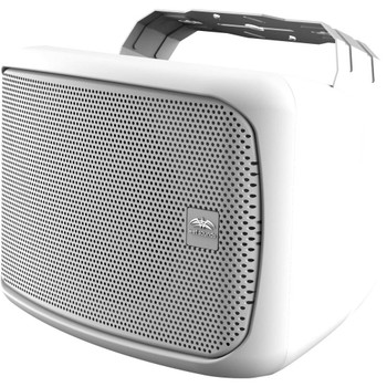 """Wet Sounds Venue Series 8"""" Horn Loaded Compression Driver Outdoor Speaker, White, Sold Individually"""
