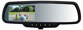 """Video Rear View Mirror Intraphex TD-CTMD43 Mirror 4.3"""" Capacitive Touch Screen"""