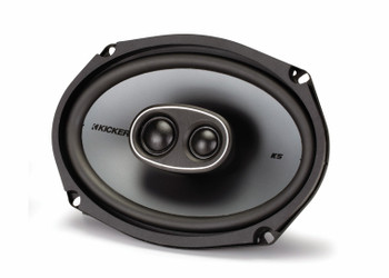 "Kicker for Dodge Ram Truck 1994-2011 speaker bundle - KS 6x9"" coaxial speakers, and KS 5.25"" coaxial speakers."