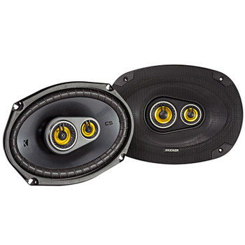 "Kicker for Dodge Ram Crew Cab 2012 & up speaker bundle- 2 pairs of CS 6x9"" speakers, & a pair of CS 3.5"" speakers"