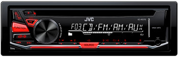 JVC KD-R370 CD Receiver with Front AUX Input