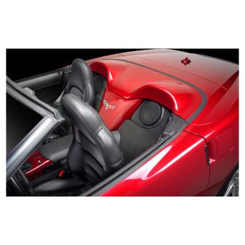 JL Audio SB-GM-C6CONV/8W3v3:Stealthbox® for 2005-Up Chevrolet C6 Corvette Convertible