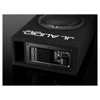 JL Audio ACP108LG-W3v3 Amplified MicroSub+ with single 8W3v3 (slot-ported)