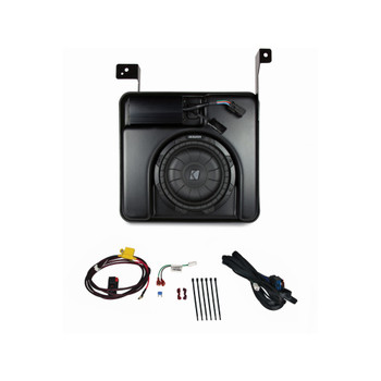 KICKER SubStage Powered Subwoofer Upgrade Kit for 2014 & newer Chevrolet Silverado/GMC Sierra Crew Cab 1500 and 2015 & newer Chevrolet Silverado/GMC Sierra Crew Cab 2500/3500