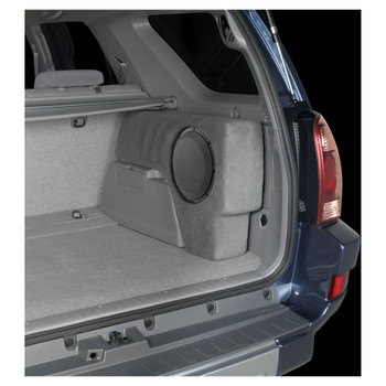 JL Audio SB-T-4RNR2/10W3v3/TP: Stealthbox® for 2003-2009 Toyota 4-Runner with Taupe interior