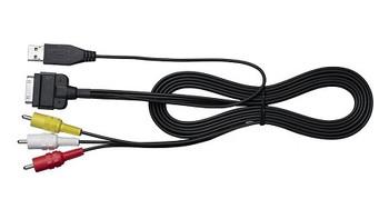JVC KSU30 iPod/iPhone Audio and Video USB Cable