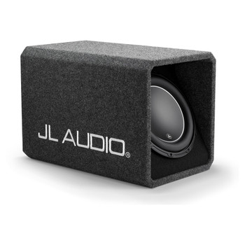 JL Audio HO112-W6v3: Single 12W6v3 H.O. Wedge Ported 2 Ω