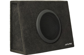 "Alpine SBT-S10V Truck Enclosure with 10"" SWT Subwoofer"