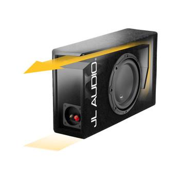 JL Audio CP108LG-W3v3:Single 8W3v3 MicroSub Ported 4 Ω