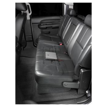 JL Audio SB-GM-SLVCC2/12TW3/BK:Stealthbox® for 2007-2013 Chevrolet Silverado / GMC Sierra Crew Cab Trucks with Ebony interior