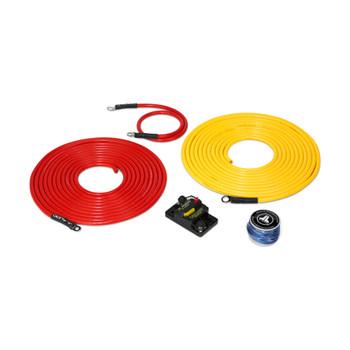 JL Audio Marine Amplifier Power Connection System: 1 Amplifier, 50A, 20 ft.