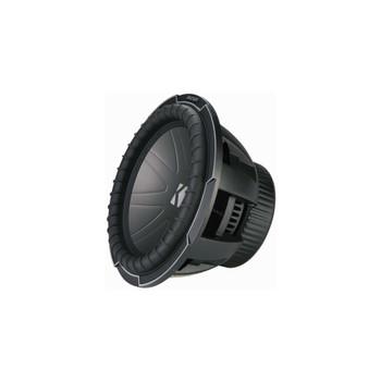 Kicker CompQ12 Q-Class 12-Inch (30cm) Subwoofer, Dual Voice Coil 4-Ohm