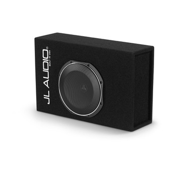 JL Audio ACP110LG-TW1 Amplified MicroSub+ with single 10TW1 (slot-ported)