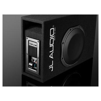 JL Audio ACP110LG-TW1 Amplified MicroSub+ with single 10TW1 (slot-ported)