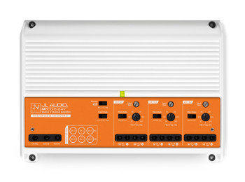 JL Audio M600/6-24V: 6 Ch. Class D Full-Range Marine Amplifier, 600 W, for 24V Systems