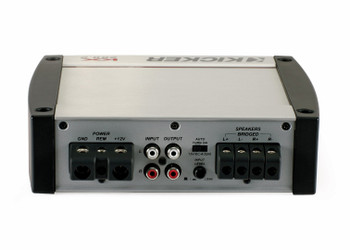 Kicker KX-Series 200 Watt Full-Range Class-D Stereo Amplifier 40KX2002
