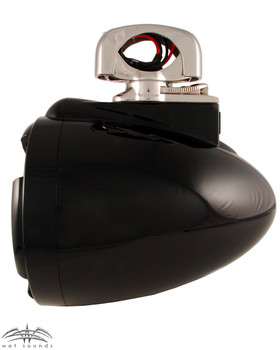 Wet Sounds REV 8 Swivel Clamp Tower Speakers - Black (Pair)