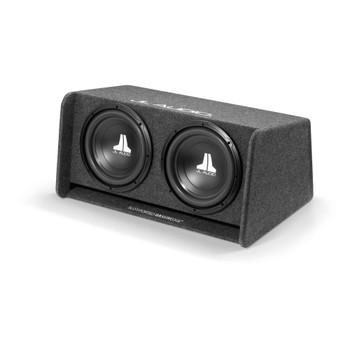 JL Audio CP212-W0v3:Dual 12W0v3 BassWedge Ported 2 Ω